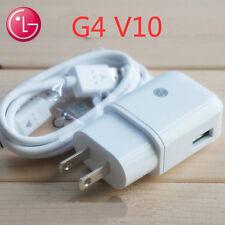 Genuine LG Wall Charger Original US Plug 1.8A White Travel Adapter LG G3 G4 V10