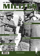 """MILITES n.32 rivista militaria magazine """"Btg Angioy"""" - Dufy  """"Colonna Pascolini"""""""