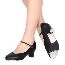 NEW Capezio 561 Tap Jr Footlight Black Leather Tap Shoe