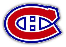 Montreal Canadiens NHL Hockey Logo Car Bumper Sticker - 3'', 5'', 6'' or 8''