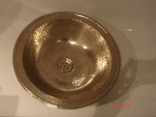 MOROCCAN SMALL COPPER HANDMADE BATHROOM SINK/BASIN