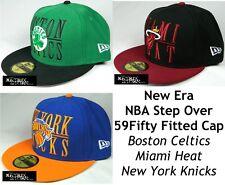 NEW ERA STEP OVER NBA 59FIFTY FITTED CAP - BOSTON CELTICS/MIAMI HEAT/NY KNICKS