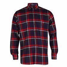 Gant Maine Twill Check Shirt - Deep Russet