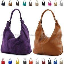 ital. Damentasche Handtasche Tasche Hobo Bag Schultertasche Ledertasche 733