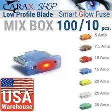 Fuse MINI LOW PROFILE Blade Smart GLOW Fuse Car Fuse Kit Automotive ATC ATO
