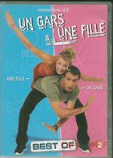 DVD ZONE 2 SKETCHES--JEAN DUJARDIN / ALEXANDRA LAMY--UN GARS UNE FILLE--BEST OF