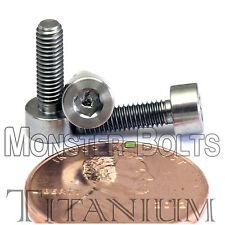 M3 - 0.50 - Titanium Socket Head Caps Screws Hex Allen DIN 912 Ti Grade 5 Metric