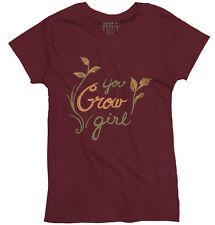 You Grow Girl Cute Shirt | Home Gardening Gift Ideas for Mom Ladies T Shirt