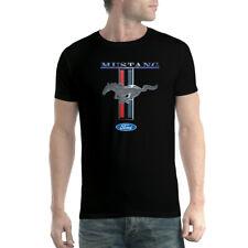 Ford Mustang Logo Men T-shirt XS-5XL