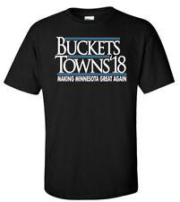 """Jimmy Butler Minnesota Timberwolves """"Buckets Towns 18"""" T-Shirt"""