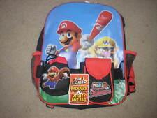 NWT Super Mario Super Sluggers Backpack & Belt Bag