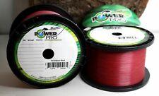 Power Pro Vermilion Red ASchnur 10m 0,10mm 0,13 0,15 0,19 0,23 0,28 0,32mm