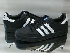 ADIDAS Originals Tennis Pro Tapis-Scarpe da Ginnastica Sneaker Men Black/White q22930 NUOVO