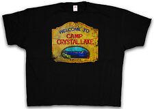 4XL & 5XL CAMP CRYSTAL LAKE T-SHIRT - Jason Friday The 13th T-Shirt XXXXL XXXXXL