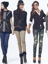 Pantaloni effetto metallico art. 5330 - DENNY ROSE Autunno Inverno 2012 2013