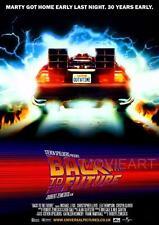 Ritorno al futuro Re-Release Movie Poster Film Cinema STAMPA a4 a3
