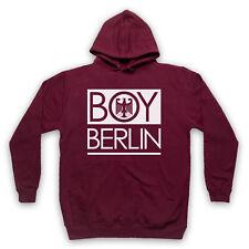 Niño Berlín Alemán Águila Gracioso Parodia Adultos Niños Sudadera con capucha Hipster de Londres