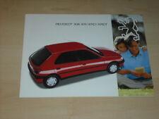 32500) Peugeot 306 XR XRD XRDT Prospekt 199?