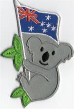 AUSTRALIAN KOALA FLAG  IRON ON  PATCH BUY 2 GET 1 FREE