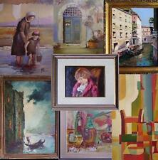 consulenza valutazione e vendita per c/terzi di dipinti e oggetti artistici