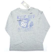 MEXX de manga larga Niño Camiseta gris deportivo Talla M (110/116), L (122/128)