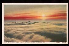 peabody sunrise white mountains new hampshire postcard