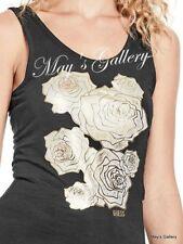 GUESS Jeans Glitter  Tank T-shirt Tee T shirt Top Blouse NWT XS,S,M,L,XL
