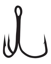 Gamakatsu EWG Treble Hook Extra Wide Gap Replacement Fishing Treble Hook
