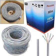 305M RJ45 Outdoor Ethernet Network Patch Cable Roll Reel CAT6 Bulk FTP Modem UTP