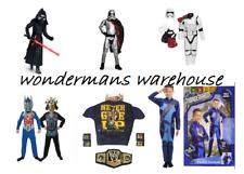 Kids Fancy Dress Halloween Costumes - Star Wars/Transformers/Thunderbirds lot