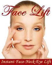 Redakteurin Instant anti Falten/Anti Aging Face Lift Hals Lift Bänder Kit U.K.