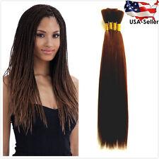 STRAIGHT Yaki BULK Braiding Hair Extension (7 Colors Available)