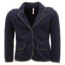 7458T giacca bimba SUN 68 cotone garzato blu jacket kid