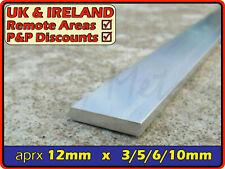"Aluminium Flat Bar (strip,edging,section,profile,alloy,ally) | 1/2"" / 12.7mm"