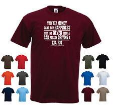'KIA RIO' - Men's Funny Car Gift T-shirt  'They say Money can't buy...'