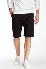VOLCOM VMONTY BLACK khaki chino shorts frickn Modern Fit 29 30 31 32 34 36 38 40