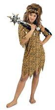 Neandertalerin Leopard GATTO Selvatico Costume Sexy foresta vergine ragazza capelli maturi 36-38-42-46