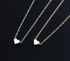 filigrana collana cuore argento oro catena NOBILE Stile regolabile AMORE NUOVO