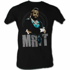 Mr. T Mrt Black And Blue Black T-Shirt