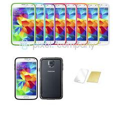 ^ Bumper Crystal Case Silikon Schutzhülle Handy Tasche für ver. Handys Folie