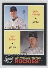 2002 Upper Deck Vintage #269 Jason Jennings Luke Hudson Colorado Rockies Card