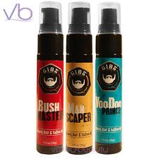 GIBS Grooming Beard Hair And Tattoo Oil - Natural Argan, Sunflower, Copaiba Oil