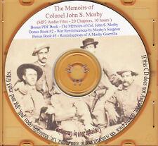 Mosby's Memoirs Audio - 43rd Battalion VA Cavalry