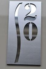 Custom HOUSE/DOOR NUMBER SIGN PLAQUE Laser Cut UV RESISTANT ORIGINAL