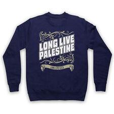 LONG LIVE PALESTINE LONG LIVE GAZA ANTI ÉTAIT PROTEST ADULTES PULL SWEAT