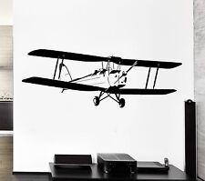 Wall Decal Plane Air Pilot Flight Sky Aviation Corncob Vinyl Stickers (ed169)