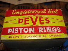 Deves#1890.020 OverSized Piston Ring Set 69-71 Toyota 8RC Celica,Hilux,Corona,Mk