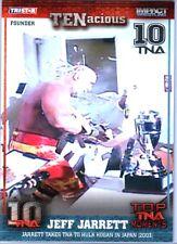 TNA Jeff Jarrett Hulk Hogan #20 2012 TENacious SILVER Parallel Card SN 17 of 30