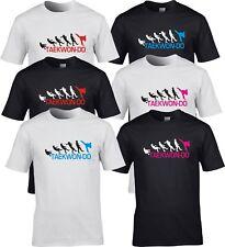 TAE kwon TKD Arti Marziali Evolution Calcio T Shirt