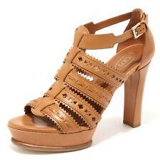 85867 sandalo TOD'S SAND PLAT CUOIO scarpa donna shoes women